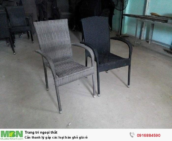 Cần thanh lý gấp các loại bàn ghế giá rẻ1