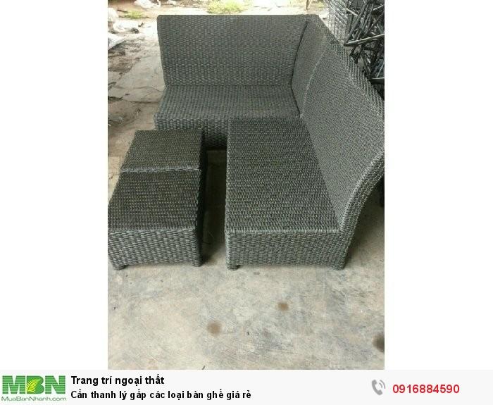 Cần thanh lý gấp các loại bàn ghế giá rẻ3
