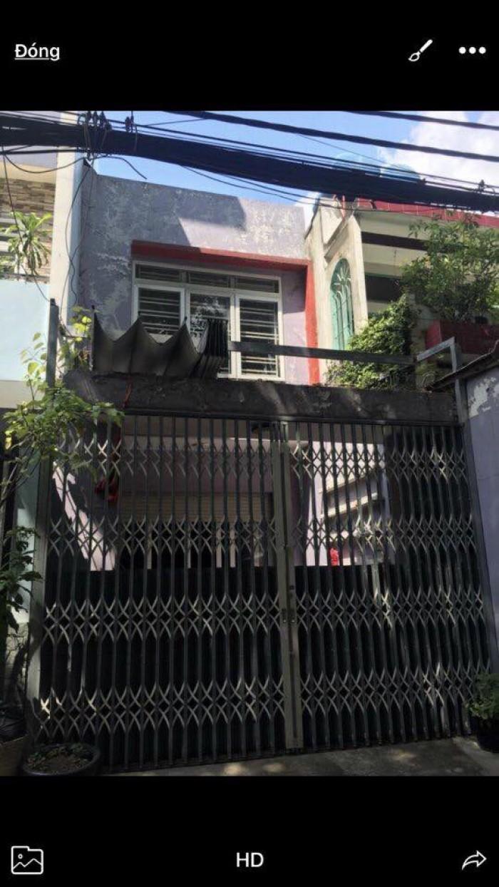Bán nhà 4x18.5m, 1 Lầu, Hẻm 8m đường Tô Hiệu, P.Hiệp Tân, 5.68 tỷ