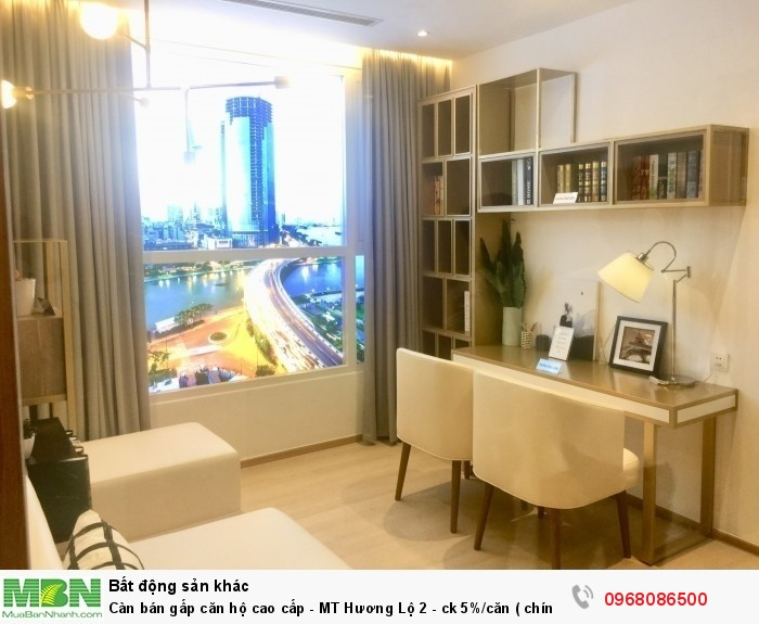 Càn bán gấp căn hộ cao cấp - MT Hương Lộ 2 - ck 5%/căn ( chính chủ )