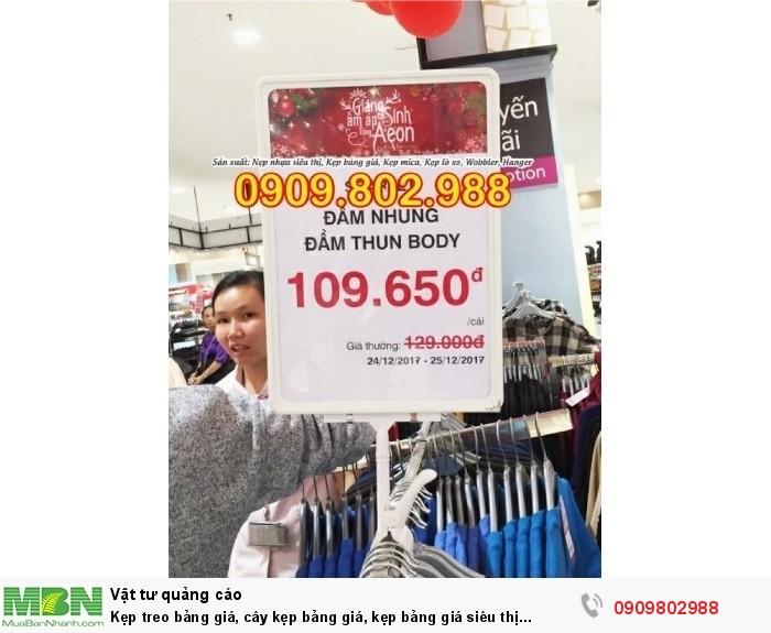 Kẹp treo bảng giá, cây kẹp bảng giá, kẹp bảng giá siêu thị11