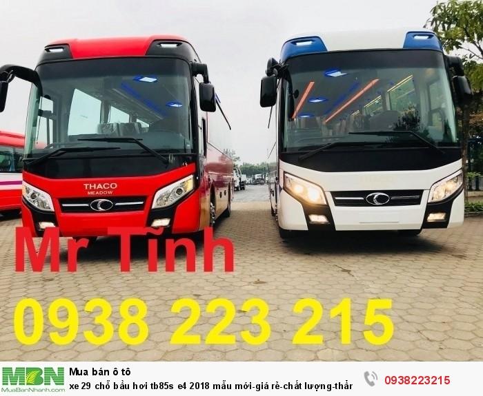 Xe 29 chỗ bầu hơi tb85s e4 2019 mẫu mới-giá rẻ-chất lượng-thẩm mỹ-giao nhanh tại Sài Gòn 3