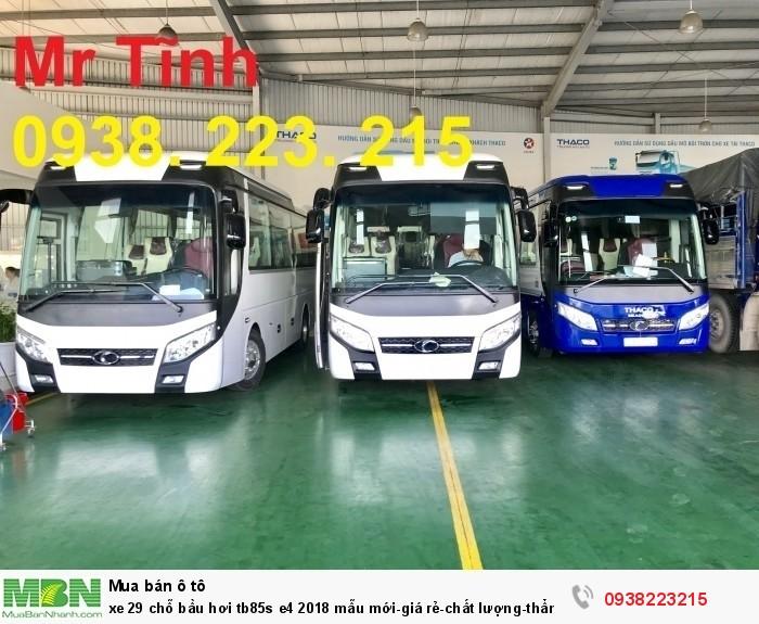Xe 29 chỗ bầu hơi tb85s e4 2019 mẫu mới-giá rẻ-chất lượng-thẩm mỹ-giao nhanh tại Sài Gòn 5