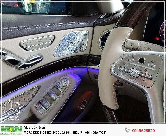 2019 Mercedes Benz S450 New - Bank hỗ trợ 80%- Ưu đãi tốt - Xe Giao ngay