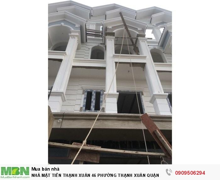 Nhà mặt tiền Thạnh Xuân 46 phường Thanh Xuân quận 12