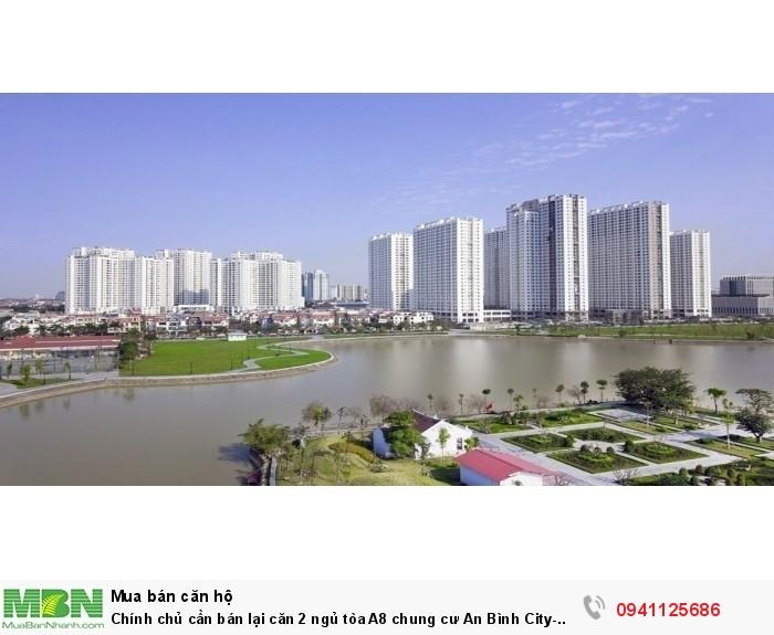Chính chủ cần bán lại căn 2 ngủ tòa A8 chung cư An Bình City- View hồ đẹp