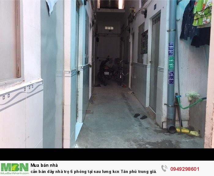 Cần bán dãy nhà trọ 6 phòng tại sau lưng KCN Tân Phú Trung