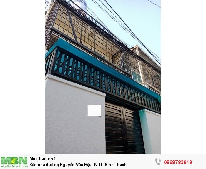 Bán nhà đường Nguyễn Văn Đậu, P. 11, Bình Thạnh