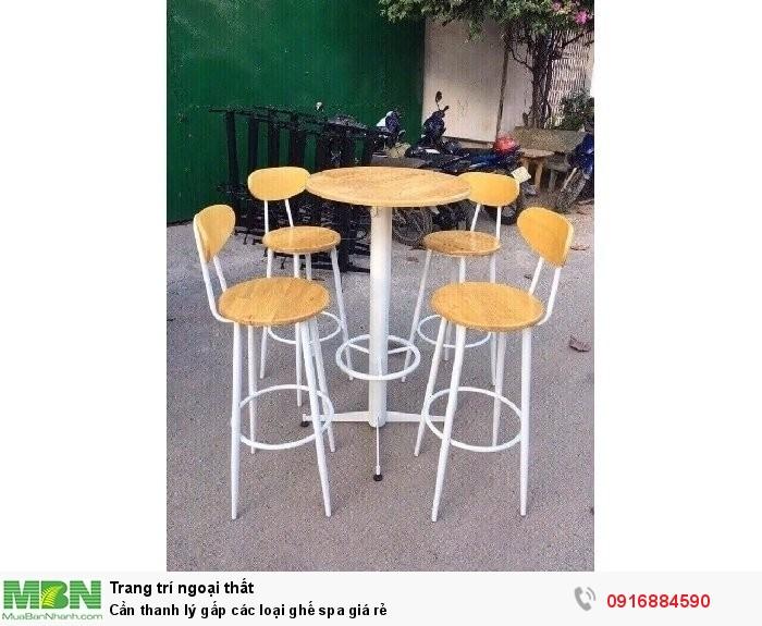 Cần thanh lý gấp các loại ghế spa giá rẻ1