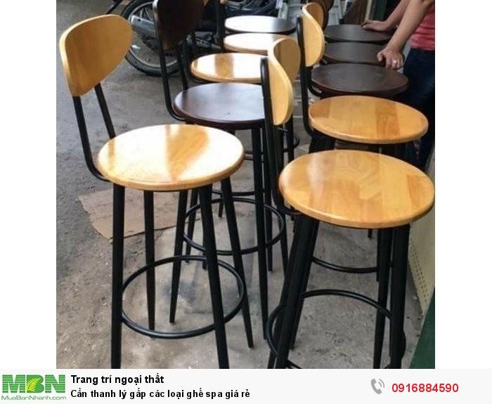 Cần thanh lý gấp các loại ghế spa giá rẻ2