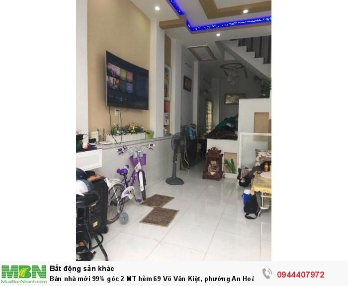 Bán nhà mới 99% góc 2 MT hẻm 69 Võ Văn Kiệt, phường An Hoà, quận Ninh Kiều, TP Cần Thơ