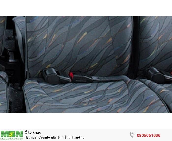 Hyundai County giá rẻ nhất thị trường