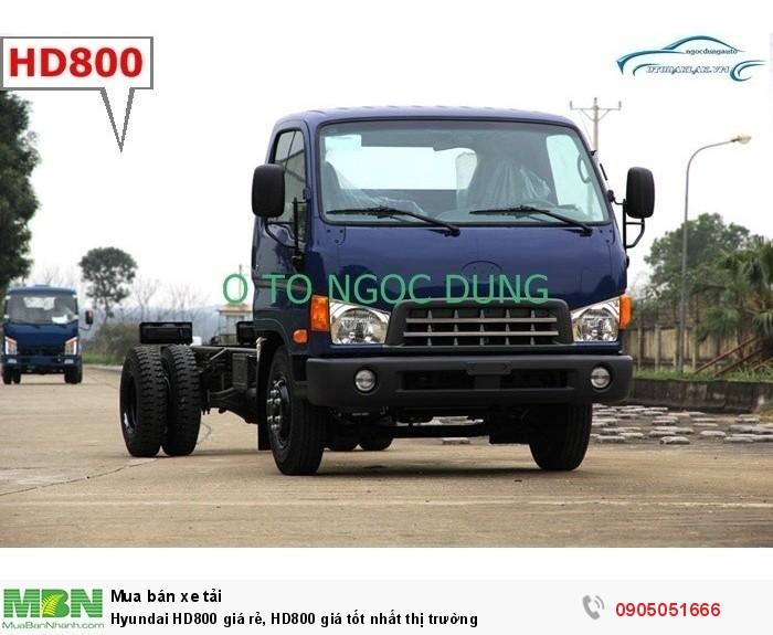 Hyundai HD800 giá rẻ, HD800 giá tốt nhất thị trường