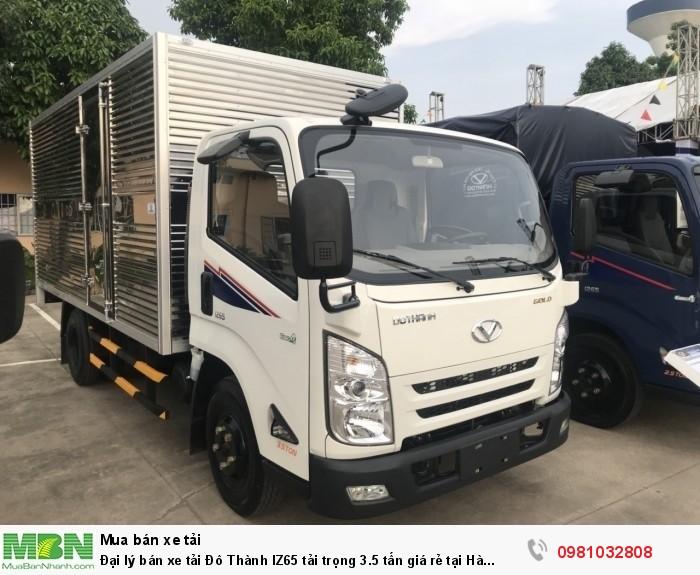 Đại lý bán xe tải Đô Thành IZ65 tải trọng 3.5 tấn giá rẻ tại Hà Nội | Hyundai Đông Nam