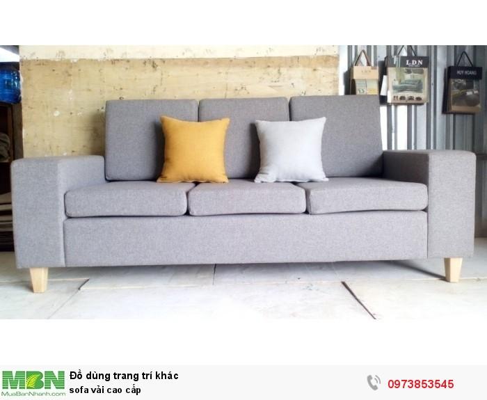 Sofa vải cao cấp0