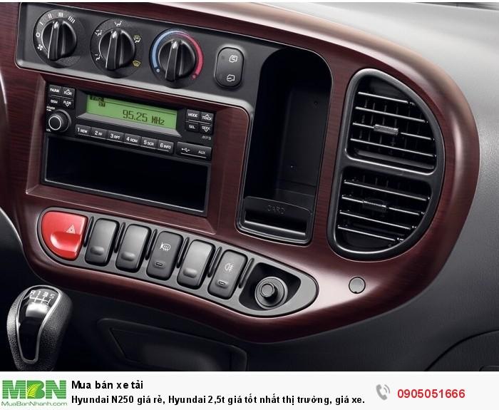 Hyundai N250 giá rẻ, Hyundai 2,5t giá tốt nhất thị trường, giá xe hyundai 2,5t 3
