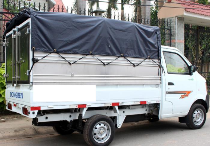 Mua trả góp xe tải Dongben 810 kg