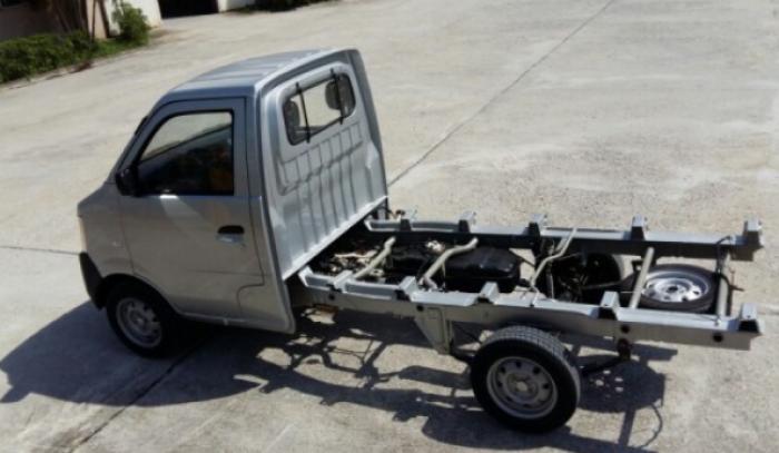 DongBen 870kg Thùng Mui Bạt sản xuất năm 2017 Số tay (số sàn) Xe tải động cơ Dầu diesel