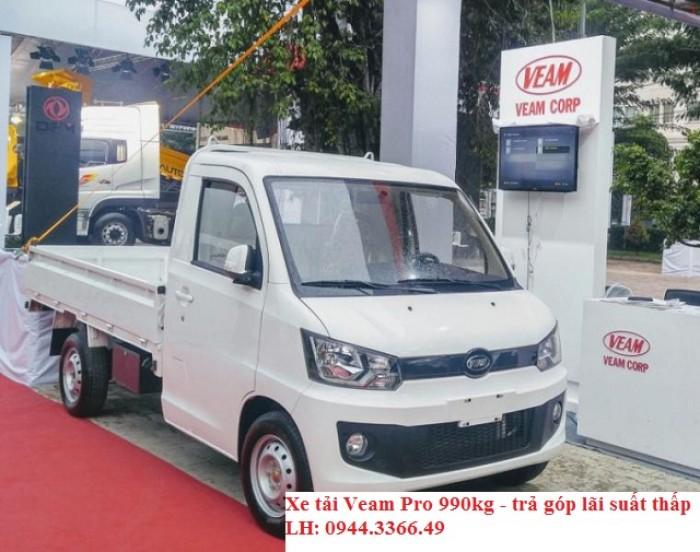 Bán xe tải Veam Pro 990kg/1T/ - trả góp thấp – thủ tục nhanh- giao xe tận nơi