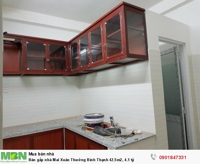 Bán gấp nhà Mai Xuân Thưởng  Bình Thạnh 42.5m2