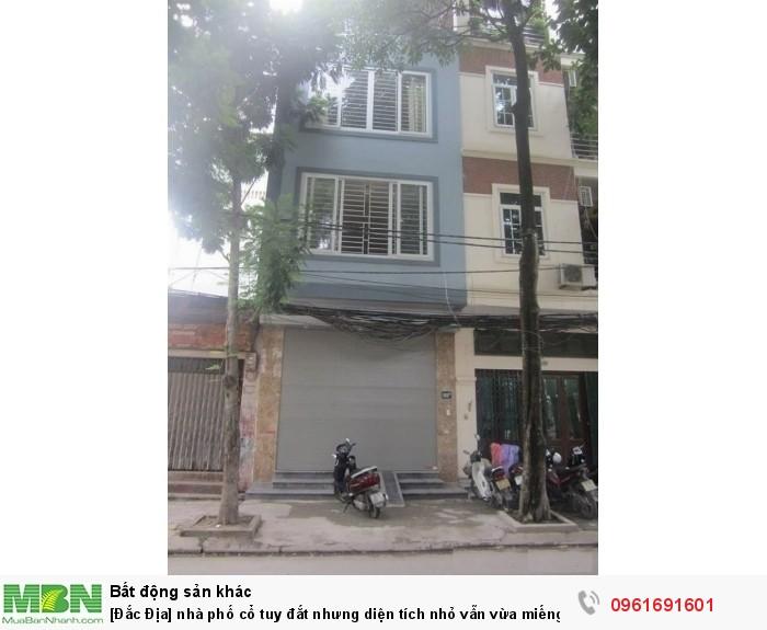 [Đắc Địa] nhà phố cổ tuy đắt nhưng diện tích nhỏ vẫn vừa miếng, Nguyễn Binh Khiêm, P. Lê Đại Hành.