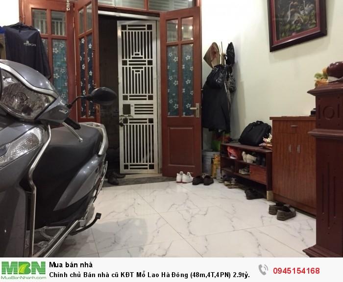 Chính chủ Bán nhà cũ KĐT Mỗ Lao Hà Đông (48m,4T,4PN).ngõ Thông. nhà đã sử dụng 2 năm