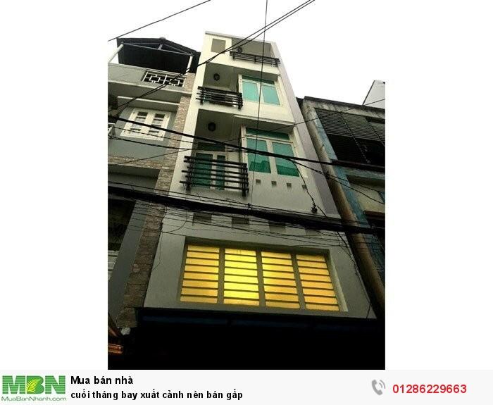Cần bán gấp căn nhà nhỏ xinh đuờng Huỳnh Văn Bánh, Phú Nhuận.