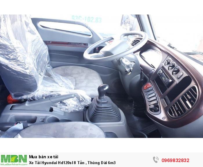Xe Tải Hyundai Hd120sl 8 Tấn ,  Thùng Dài 6m3