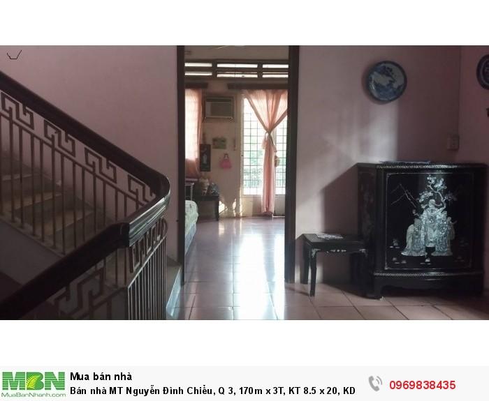 Bán nhà MT Nguyễn Đình Chiểu, Q 3, 170m x 3T, KT 8.5 x 20, KD khủng, giá 68 tỷ.