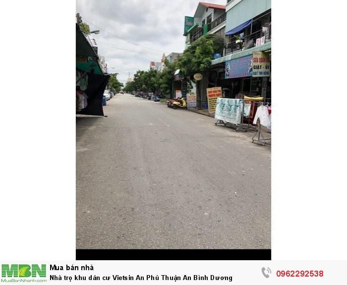 Nhà trọ khu dân cư Vietsin An Phú Thuận An Bình Dương