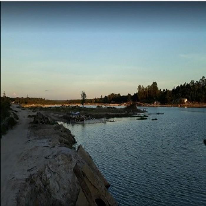 Đất mặt tiền đường Bình Sơn-Long Bình liền kề hồ sinh thái Lộc An