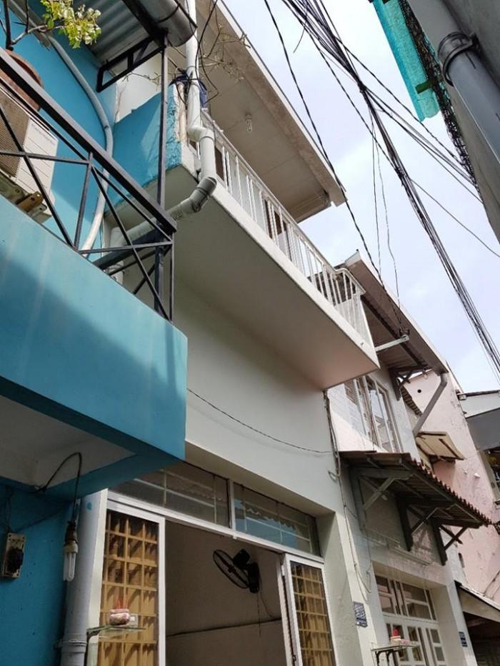 Nhà bán đường Nơ Trang Long, F12, Bình Thạnh.