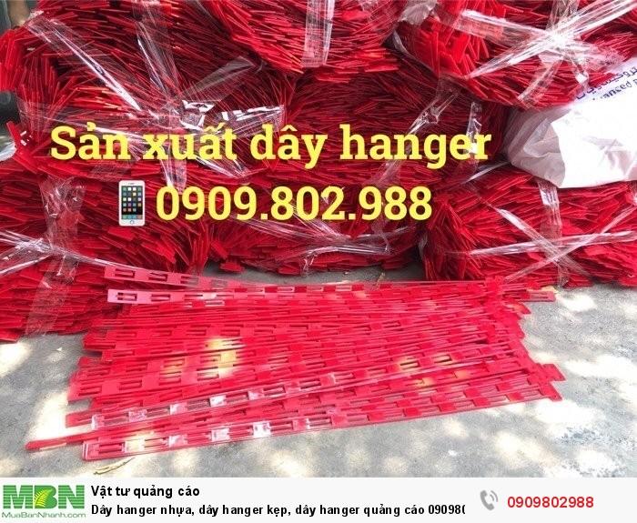 Dây hanger nhựa, dây hanger kẹp, dây hanger quảng cáo1