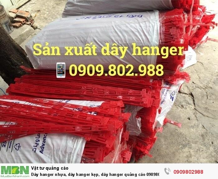 Dây hanger nhựa, dây hanger kẹp, dây hanger quảng cáo2