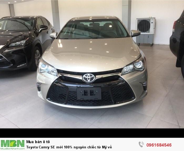 Toyota Camry SE mới 100% nguyên chiếc từ Mỹ về