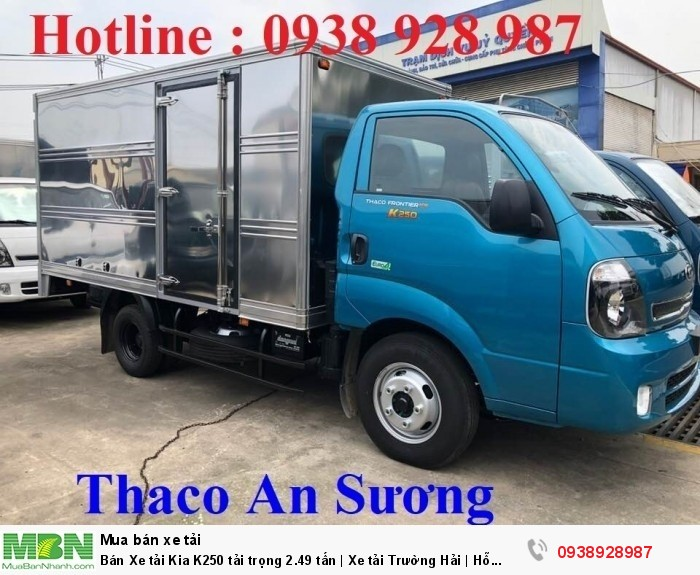 Bán Xe tải Kia K250 tải trọng 2.49 tấn | Xe tải Trường Hải | Hỗ trợ mua xe tải trả góp 1