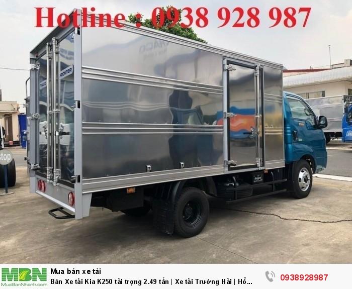 Bán Xe tải Kia K250 tải trọng 2.49 tấn | Xe tải Trường Hải | Hỗ trợ mua xe tải trả góp 3