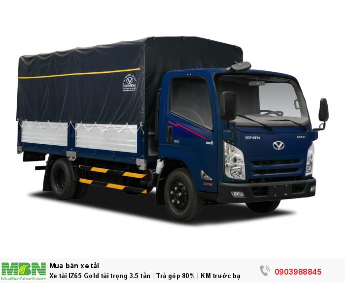Xe tải IZ65 Gold tải trọng 3.5 tấn | Trả góp 80% | KM trước bạ