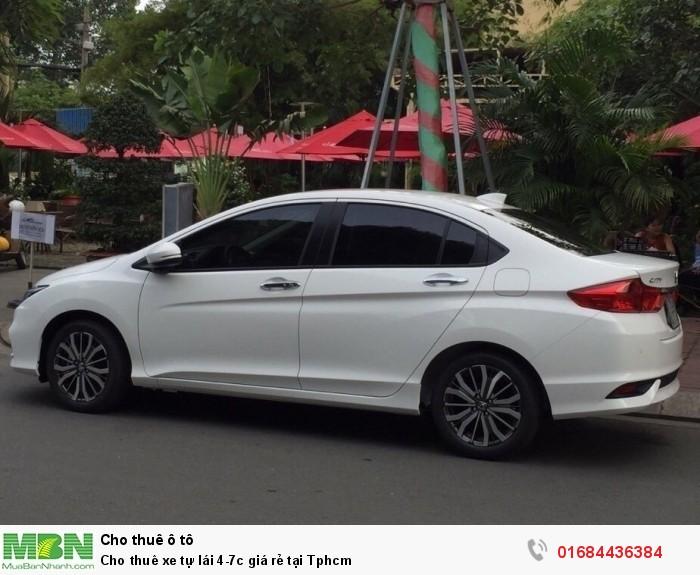 Cho thuê xe tự lái 4-7c giá rẻ tại Tphcm