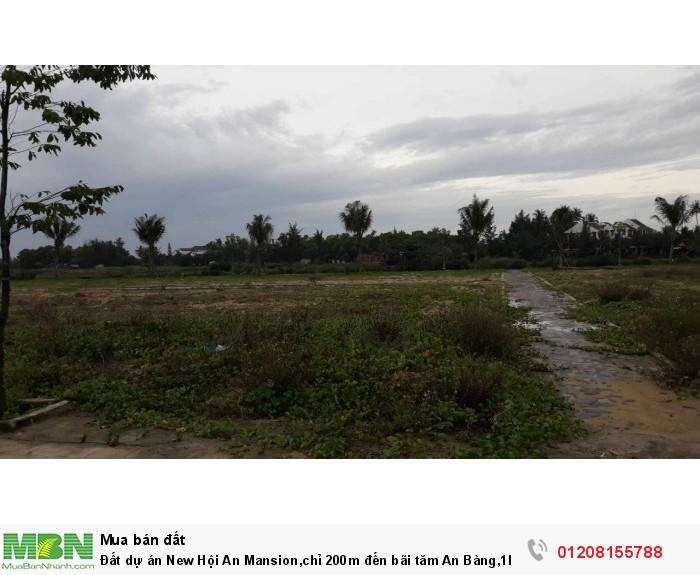 Đất dự án New Hội An Mansion,chỉ 200m đến bãi tăm An Bàng,1km đi Hội An