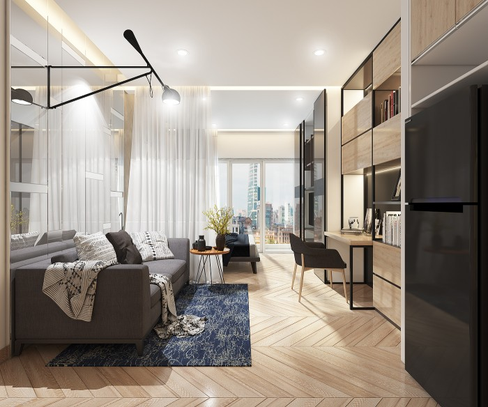 Mở bán officetel view Bến Vân Đồn tại dự án Millennium Q4, từ 2,2ty/căn,giao hoàn thiện, cam kết thuê lại!!