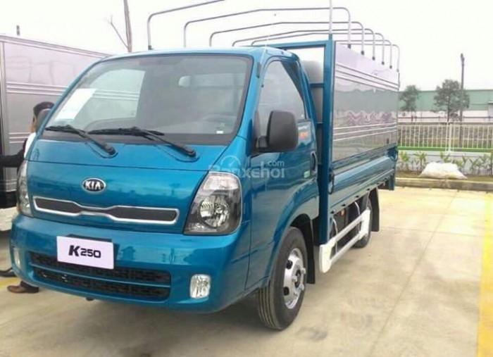 Bán xe tải Thaco Kia K250 thùng mui bạt, thùng kín, thùng lửng