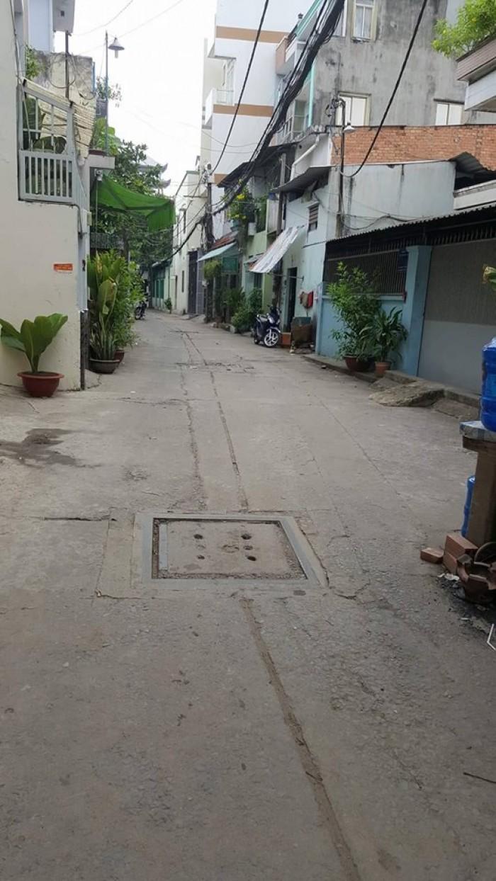 Bán nhà : hẻm Ng Hữu Tiến Q Tân Phú.  + Diện tích : 5,4 x 4,9 + Hướng : hướng Tây Bắc