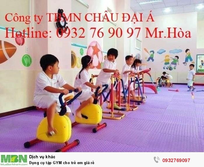 Dụng cụ tập GYM cho trẻ em giá rẻ0