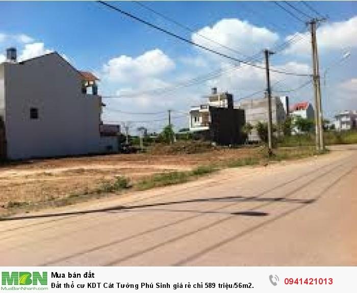 Đất thổ cư KDT Cát Tường Phú Sinh giá rẻ