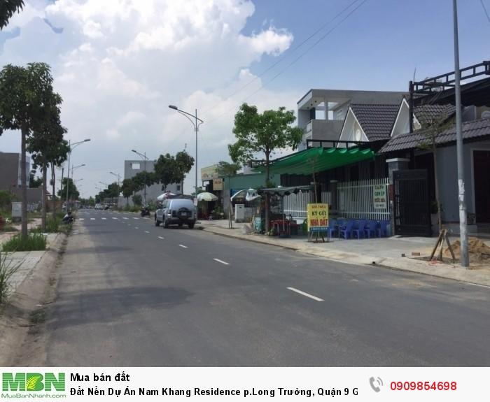 Đất Nền Dự Án Nam Khang Residence p.Long Trường, Quận 9 Giá Tốt!