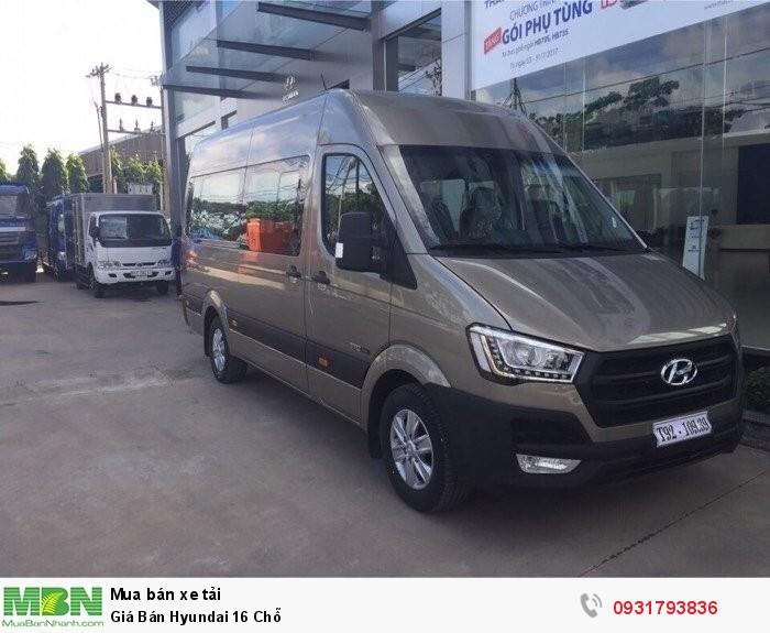Giá Bán Hyundai Solati 16 Chỗ