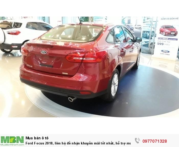Ford Focus 2018, liên hệ để nhận khuyến mãi tốt nhất, hỗ trợ mua xe trả góp có lợi, lãi suất tốt