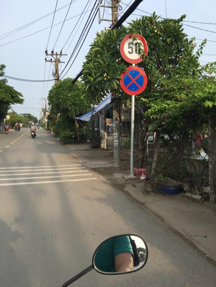 Đất hai mặt tiền giá 850tr/1000m2, xã Quy Đức, Bình Chánh