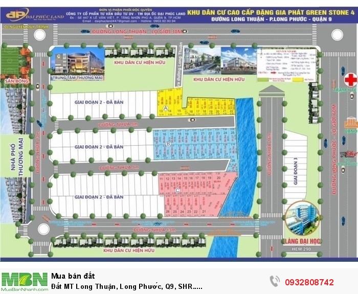 Đất MT Long Thuận, Long Phước, Q9, SHR.....